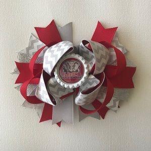 Alabama university bow - bama bow - boutique bow